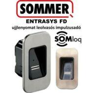 SOMMER ENTRASYS FD ujjlenyomat leolvasós impulzusadó