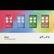 LIFE MAXI 4 MULTICOLOR távirányító (kék)